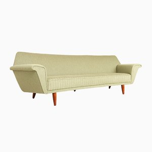 Vintage Danish Curved Sofa by Georg Thams for Vejen Polstermøbelfabrik, 1960s