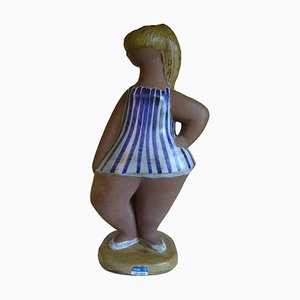 Mid-Century ABC Girls Dora Figurine by Lisa Larson for Gustavsberg, 1960s