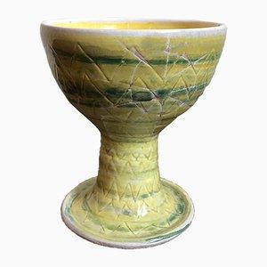 Italian Ceramic Vase by Guido Gambone, 1950s