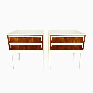 Space Age Nightstands, 1970s, Set of 2
