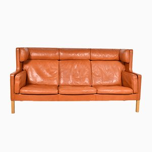 Kupe Model 2193 3-Seat Sofa by Børge Mogensen for Fredericia, 1970s