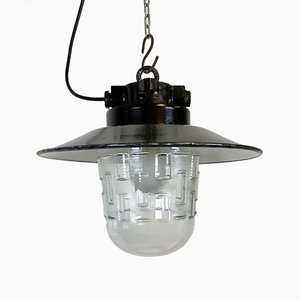 Industrial Factory Hanging Lamp, 1970s