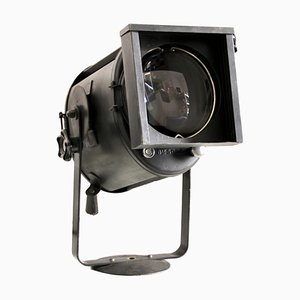 Vintage French Theater Spotlight from A.E. Cremer, 1950s