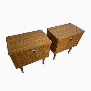 Nightstands from MDK Design Furniture Belgium, 1960s, Set of 2