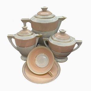 Teeservice aus Porzellan von Limoges Pallas für Limoges, 1930er, 34er Set