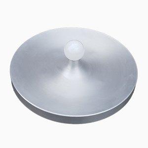 Mid-Century Aluminium Discus Deckenlampe von Staff