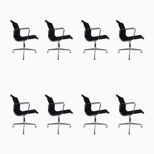 Chaise de Bureau Eames EA 108 Hopsak Pivotante de Vitra, Set de 8