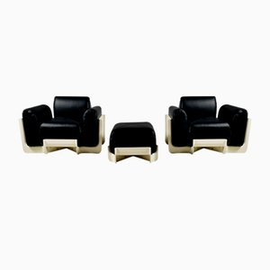 Duna Chairs for Uno P, Italy, 1969, Set of 2