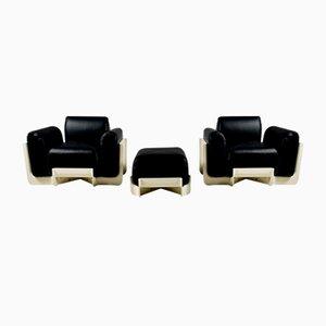 Duna Stühle für Uno P, Italien, 1969, 2er Set