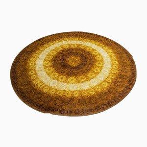 Mid-Century Danish Rya Style Wool Abstract Carpet