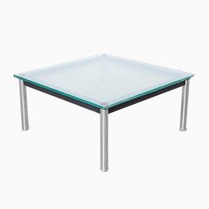 Tavolino da caffè Lc10-p in metallo cromato di Le Corbusier per Cassina