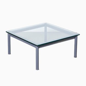 Lc10-p Grey Coffee Table by Le Corbusier for Cassina