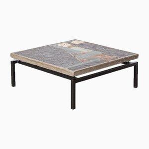 Table Basse Carrée par Paul Kingma