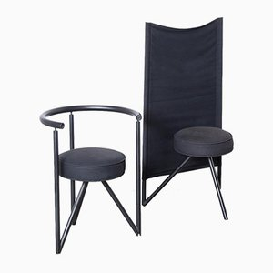 Black Miss Wirt chair by Philippe Starck for Disform