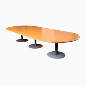 Long Oval Conference Table from Knoll
