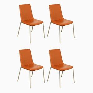 Modell Ds-717/61 Esszimmerstühle von Claudio Bellini für de Sede, 4er Set