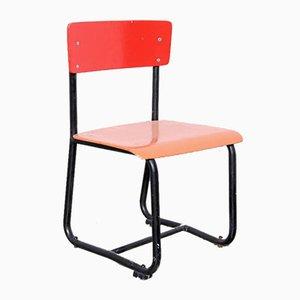 Red Tubular Children's Chair