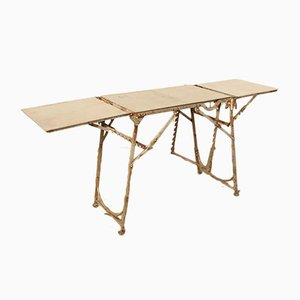 Pre-War Metal Folding Table