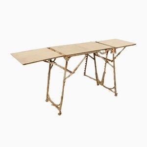 Pre-War Metal Folding Table