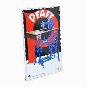 Emaille Board oder Sign von Pfaff