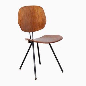 S88 Folding Chair by Osvaldo Borsani for Tecno