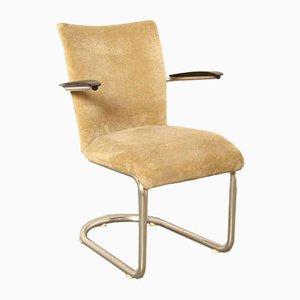 Weißer Modell 1018 Stuhl von De Wit