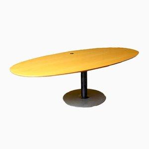 Ovaler Konferenztisch von Knoll