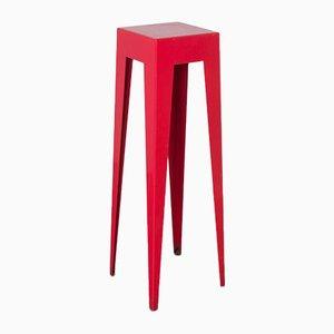 Red Standing Table by Nel Verschuuren