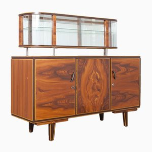 Faux Wood Low Display Cabinet