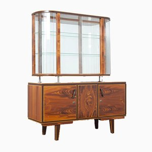 Faux Wood High Display Cabinet