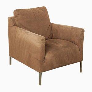 Brown Solo Armchair by Antonio Citterio for B&B Italia