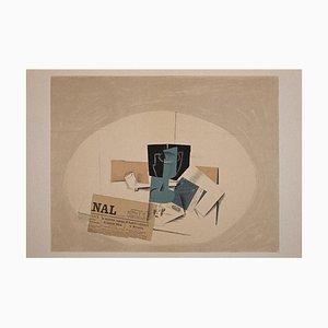 Georges Braque - Tobacco Pack - Original Lithograph - 1963