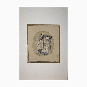 Lithographie Originale Georges Braque - Still Life - 1968