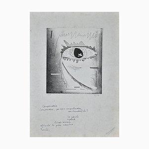 Ennio Pouchard - Understand - Original Etching - 1976