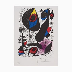 Joan Miro, Joan Miro a Lencre, 1972