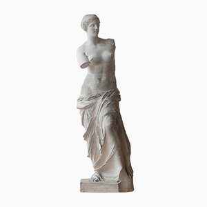 Antique Plaster Reduction of Venus De Milo Statue