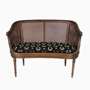 Antikes Napoleon III / Louis XVI Stil Sofa