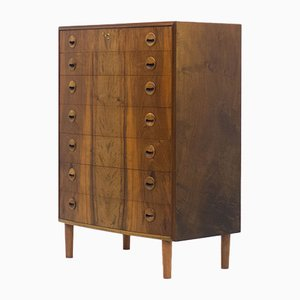 Mid-Century Walnut Chest of Drawers from PMJ Møbler