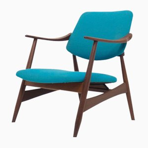 Mid-Century Lounge Chair by Louis van Teeffelen for WéBé