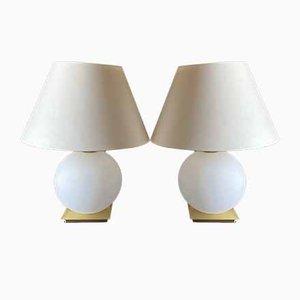 Deutsche Tischlampen von Holtkötter, 1990er, 2er Set