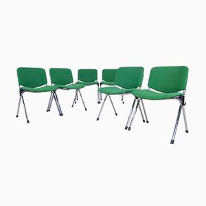 Industrial Desk Chairs from Cazzaro, 1990s, Set of 6