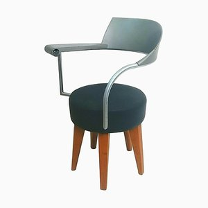 Techno Lounge Chair by Philippe Starck for Maletti, 1980s