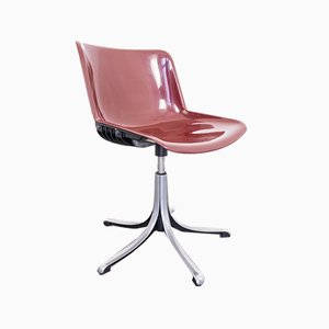 Vintage Swivel Chair by Osvaldo Borsani for Tecno, 1970s