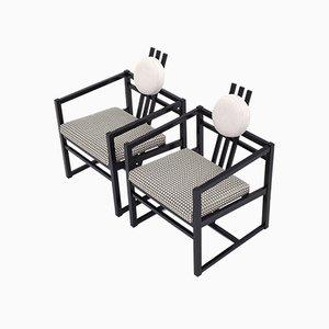 Vintage McIntosh oder Rietveld Stil Sessel, 2er Set