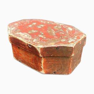 Vergoldete Schachtel