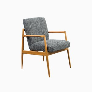 Walnut Armchair, 1950s