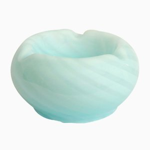 Italian Swirl Murano Glass Mello Ashtray / Vide Poche, 1970s
