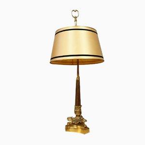 Napoleon III Gilt Bronze Desk Lamp, 1850s