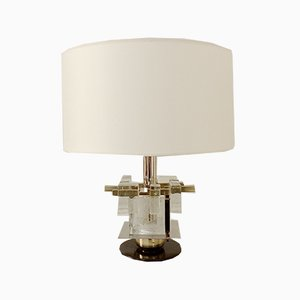 Italian Murano Glass Table Lamp from Poliarte, 1960s