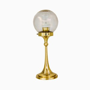 Österreichische Art Deco Tischlampe, 1920er